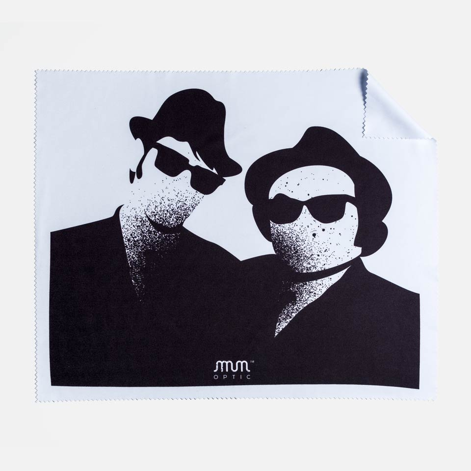 THE BLUES BROTHERS INSPIRED MICROFIBRE CLOTH