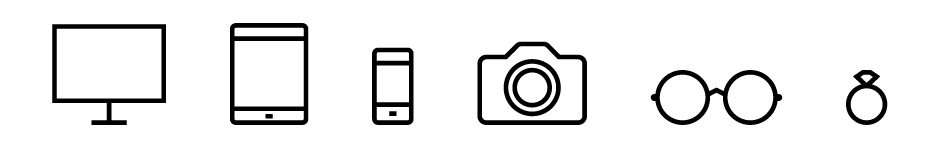 lenses-devices-icons